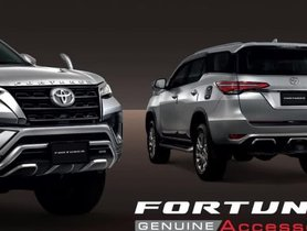 2020 Toyota Fortuner TRD Sportivo Accessories Pack Revealed