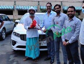 Ajay Jadeja Takes Delivery of Kia Carnival in Udaipur