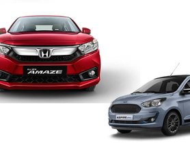 Honda Amaze Outsells Ford Aspire By A HUGE Margin in May 2020