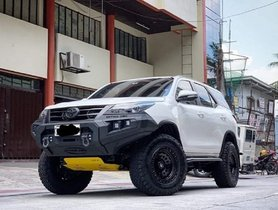 India-spec Toyota Fortuner Looks Totally BADASS with Off-road-spec Bumper