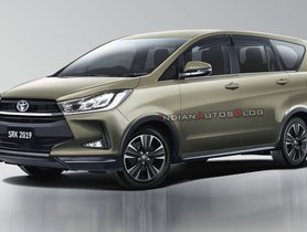 Toyota Innova Facelift Likely To Launch By Year-end