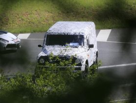 BMW-Powered Land Rover Defender Snapped For The First Time