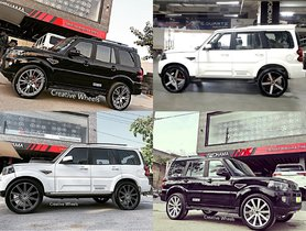 5 Mahindra Scorpio SUVs That Look Batshit Crazy with 22-inchers