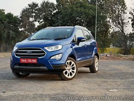 Ford EcoSport: Full Accessories Price List