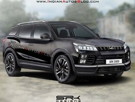 New-Gen Mahindra XUV500 Rendered Based on Funster Concept and Ssangyong Korando