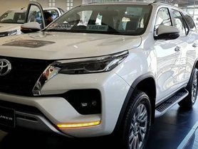 FIRST EVER Walkaround Video of New Toyota Fortuner from Dealership