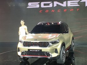 Kia Sonet To Be Priced From Rs 8 Lakh to Rs 13 Lakh