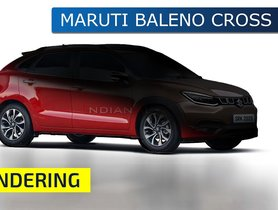 Maruti Baleno Reimagined In Crossover Livery