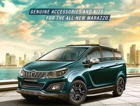 Mahindra Marazzo Accessories with Prices in India