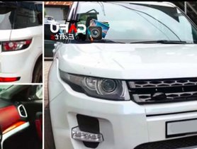 This Range Rover Evoque Was Once A Maruti Vitara Brezza