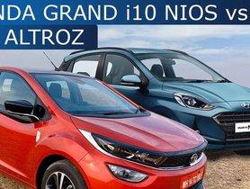 Hyundai Grand i10 Nios vs Tata Altroz: Fierce Hatchback Competition