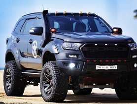 Check Out This Modified Ford Endeavour With 20-Inch Wheels and Off-Road Bodykit