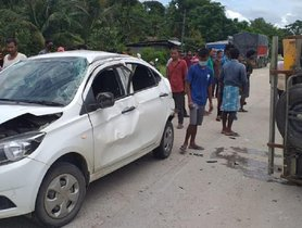 Tata Tigor Gets In A Severe Accidents, Keeps Occupants Safe