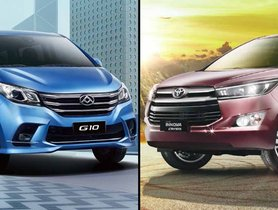 Refreshed Maxus G10 (MG G10) Launched in China, India-bound As Toyota Innova Crysta Rival