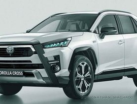 2021 Toyota Corolla Cross SUV Imagined Digitally