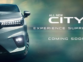 All-new Honda City Teased Ahead of Imminent Launch