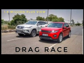 Toyota Fortuner Drag Races Land Rover Discovery Sport, Shocking Results [VIDEO]