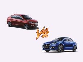 2020 Maruti Dzire vs Tata Tigor – Battle of Affordable Sedans