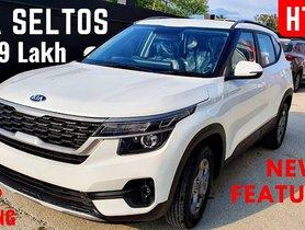 Updated 2020 Kia Seltos HTK+ Variant Detailed In A Walkaround [VIDEO]