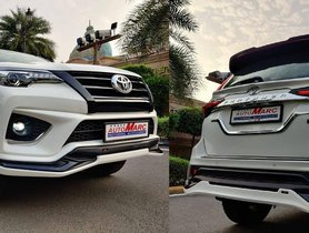 Toyota Fortuner Gets TRD Sportivo Body Kit, Looks Muscular