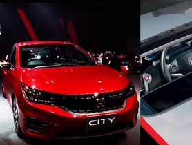 2020 Honda City Gets Remote Controlled Sunroof