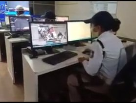 Gujarat Police Monitoring CCTVs To Catch 2-Wheeler Offenders