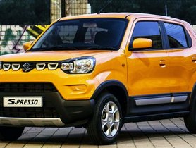 Made-In-India Maruti S-Presso Launched In South Africa