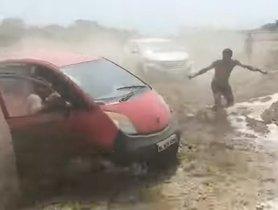 Tata Nano Takes On Mahindra Thar In An Off-Road Challenge