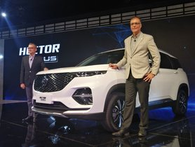MG Hector Plus Previewed Ahead Of Launch