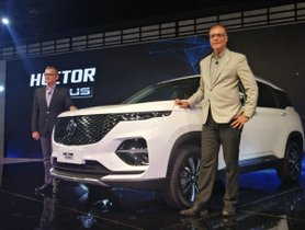 MG Hector Plus To Launch In First-half Of July, Will Rival Innova Crysta