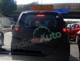 Maruti Wagon R EV Spied Once Again