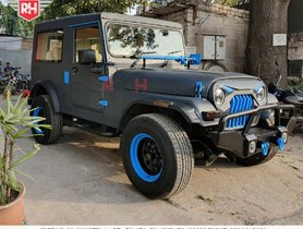 Here's An Extensively Modified Mahindra Thar With Sunroof
