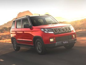 Mahindra TUV300 Unavailable On Official Website – Discontinued?