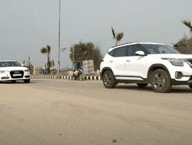 Kia Seltos VS Audi A6 In A Drag Race
