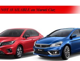 10 Features of All-new Honda City NOT AVAILABLE on Maruti Ciaz