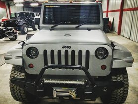 Modified Mahindra Bolero Looks Like a Jeep Wrangler