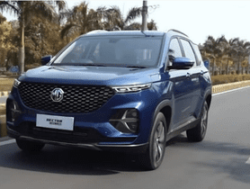 MG Hector Plus Trims And Engine Options Unveiled