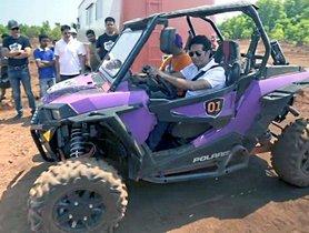 Watch Sachin Tendulkar Having Fun In An ATV And A BMW X3