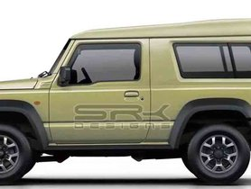 New-gen Maruti Gypsy Rendering Based On Jimny Sierra