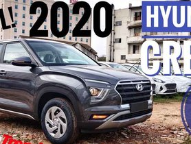 2020 Hyundai Creta E Base Diesel Variant Detailed [VIDEO]