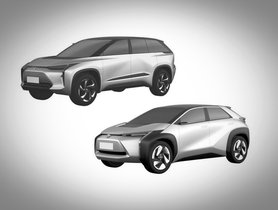 Toyota Registers Patent Of Two Electric Crossovers For Chinese Market