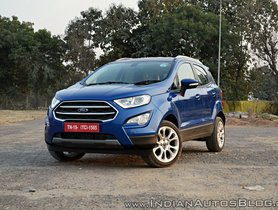 Ford EcoSport Completes 7 Years In India