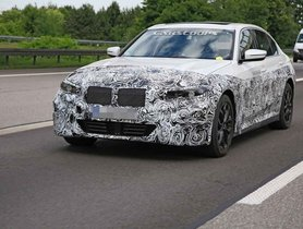 Fully-Electric BMW 3 Series Spied During Testing