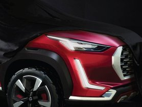 Nissan Magnite (Tata Nexon-rival) Teased In New Images