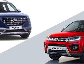 Petrol-only Maruti Vitara Brezza OUTSELLS Hyundai Venue In June 2020
