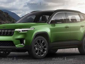 Jeep's Upcoming Kia Sonet Rival Imagined Digitally