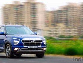 Hyundai Creta Registers YoY Sales Drop Of Just 14%, Second Most Popular Car In India
