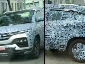 All-new Renault Kiger (HBC) Front Fascia Unveiled In New Spy Pictures