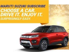 Maruti Suzuki Introduces Car Leasing Subscription Service In Gurugram & Bengaluru