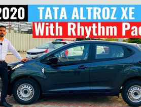 Tata Altroz XE Rhythm Variant Walkaround, Gets Factory-fitted Audio System